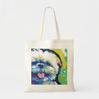 Shih Tzu Pop Art Tote Bag
