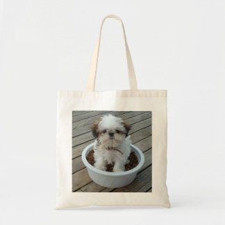 Shih Tzu Puppy Tote Bag