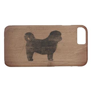 Shih Tzu Silhouette Rustic Case-Mate iPhone Case