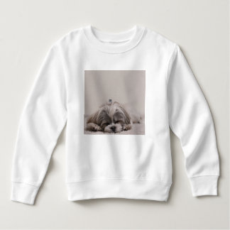 Shih tzu Sleeping Sweatshirt , Sleeping Dog
