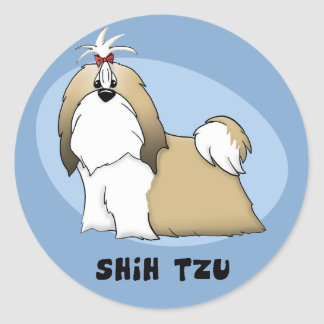 Shih Tzu Stickers