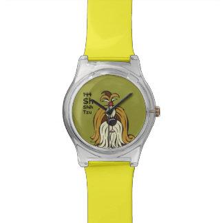 Shih Tzu - The Dog Table Watch
