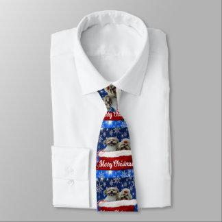 Shih tzu Tie, Christmas Tie