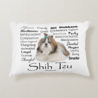 Shih Tzu Traits Accent Pillow