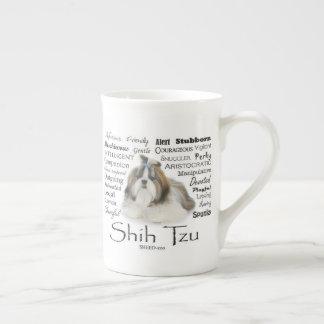 Shih Tzu Traits Bone China Mug