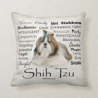 Shih Tzu Traits Pillow