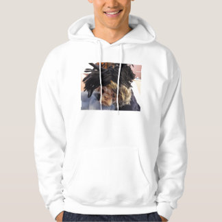 Shih Tzu with funny hat Hoodie