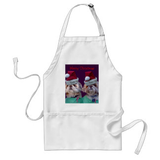 Shih Tzues Shih Two Christmas Apron 2011