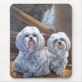 Shih Tzus Mouse Pad