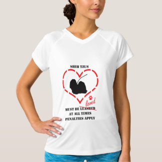 Shih Tzus Must Be Loved T-Shirt