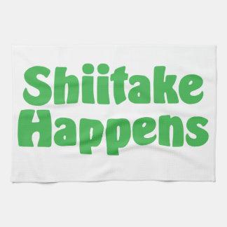 Shiitake Happens Kitchen Towel