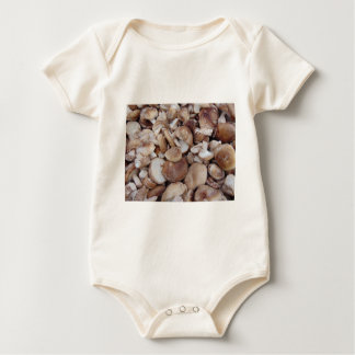 Shiitake Mushrooms Baby Bodysuit
