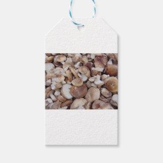 Shiitake Mushrooms Pack Of Gift Tags