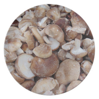 Shiitake Mushrooms Plate