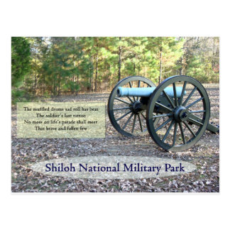 Shiloh National Military Park Postcard