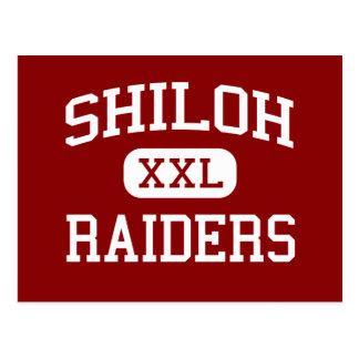 Shiloh - Raiders - Junior High School - Parma Ohio Postcard
