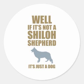 Shiloh Shepherd Round Sticker