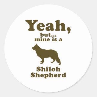Shiloh Shepherd Stickers