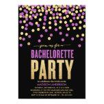 "SHIMMER & SHINE   BACHELORETTE PARTY INVITATION 5"" X 7"" INVITATION CARD"
