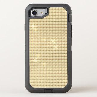 Shimmering Golden Glitter OtterBox Defender iPhone 8/7 Case