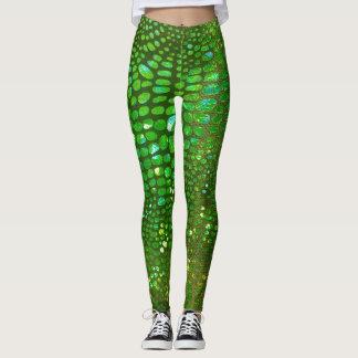Shimmering Green leggings