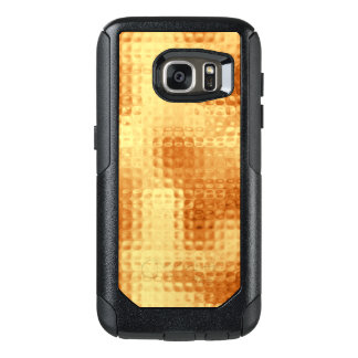Shimmering Pounded Gold OtterBox Samsung Galaxy S7 Case