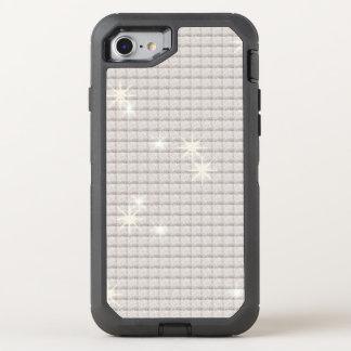 Shimmering Silver Glitter OtterBox Defender iPhone 8/7 Case