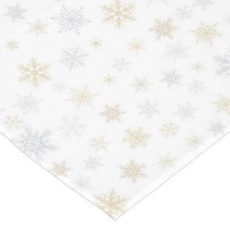 Shimmering Snow Medium Table Runner