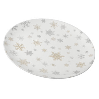 Shimmering Snow Plate