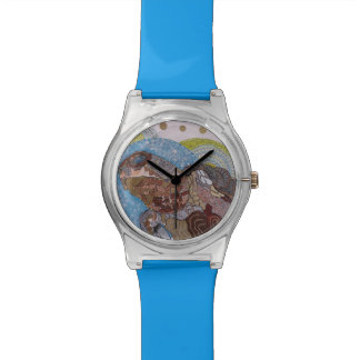 Shimmering turtle watch