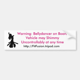 Shimmy Bumper Sticker