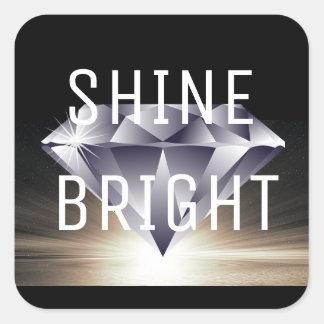 SHINE BRIGHT Brilliant Diamond Black Stickers