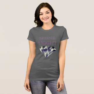SHINE BRIGHT Brilliant Multifaceted Diamond Shirt