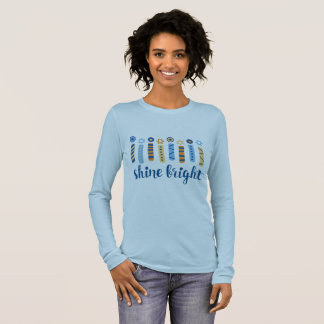 Shine Bright Hanukkah Long Sleeve Tee
