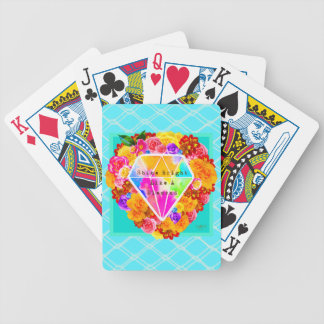 Shine Bright Like A Diamond Bicycle Playing Cards