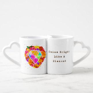 Shine Bright Like A Diamond Coffee Mug Set