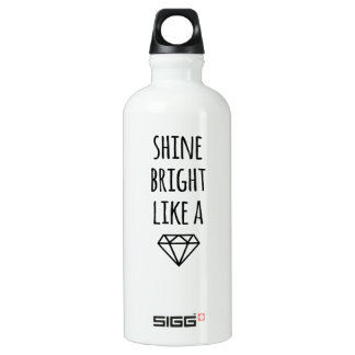 Shine Bright Like a Diamond Water Bottle