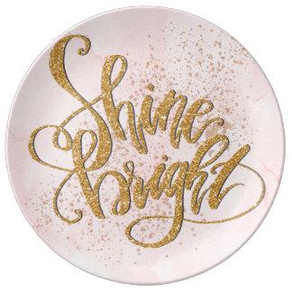 Shine Bright Plate