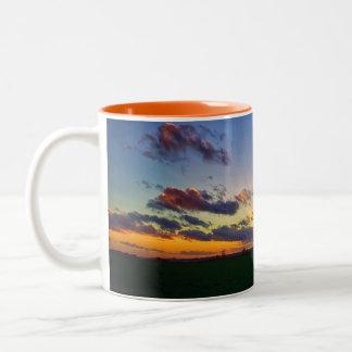 Shine Brightly Two-Tone Coffee Mug