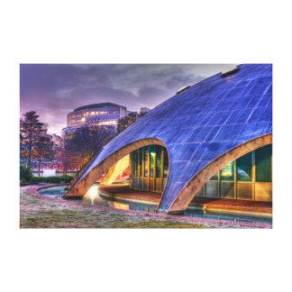 Shine Dome Wrapped Canvas Canvas Print
