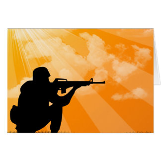 Shine down on Soldier Card