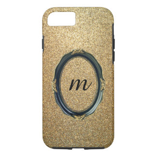 shine gold rich looks iPhone 8/7 case