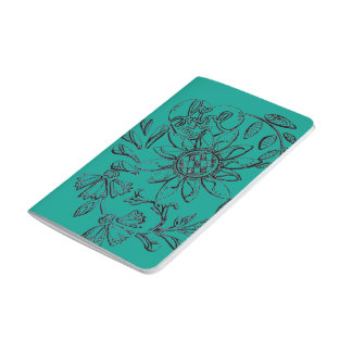 Shine hand drawn design journal