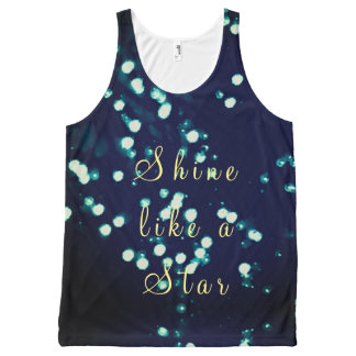 Shine like a star All-Over-Print tank top