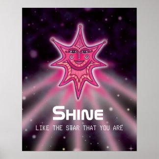 Shine Like A Star Poster