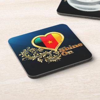 Shine On Cameroon Coasters