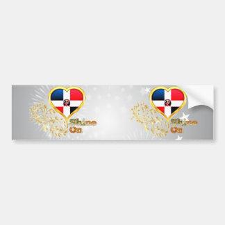 Shine On Dominican Republic Bumper Sticker