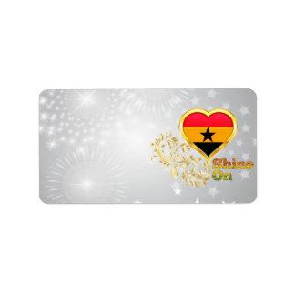 Shine On Ghana Label