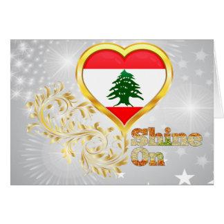 Shine On Lebanon Card