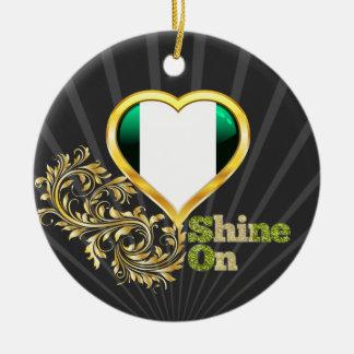 Shine On Nigeria Ceramic Ornament